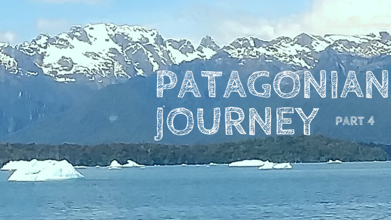 voyage to the blue lagoon, Patagonian Journey part 4, blue lake with icebergs and Andes Mountains in background, shades of blue, beauty, Laguna San Rafael, San Rafael Lagoon, glacier, trip to Patagonia, anticipation