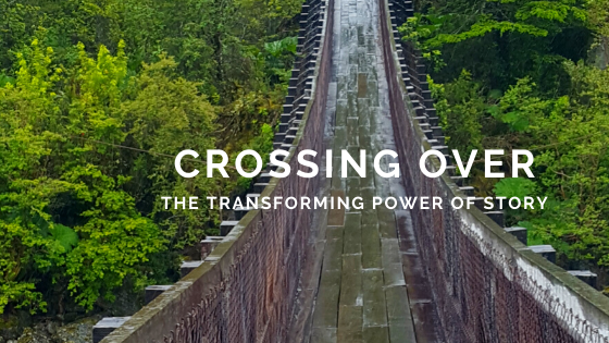 crossing over, crossing the bridge, the transforming power of story, bridges, crossover books, Christian books, pontoon bridges, swinging bridges, covered bridges, a bridge too far, worldview