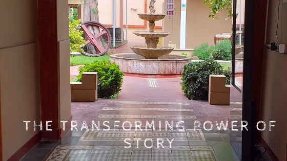 only in Chile, Chile, stories about Chile, the transforming power of story, fountain in a tiled interior patio, why write about Chile, setting, Raquel Peterson, First Mate's Log, Maria Graham, Journal of a Residence in Chile, anything could happen, estamos en Chile